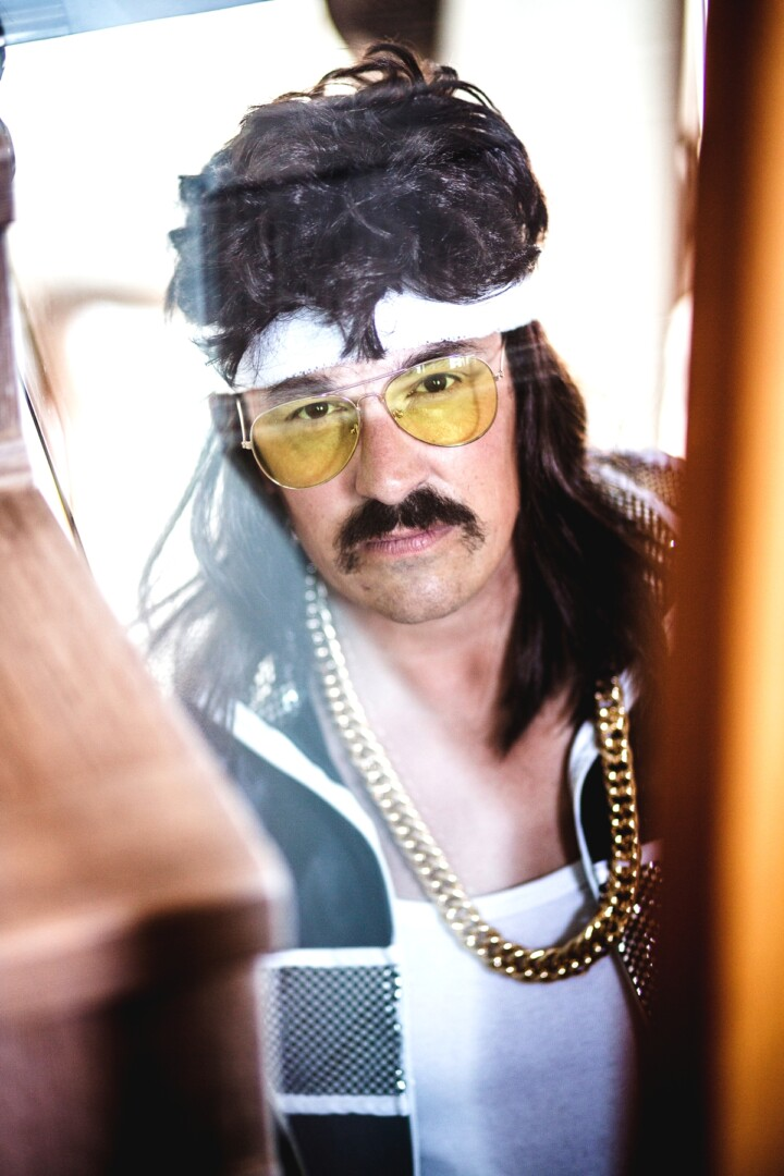 Volker as Norbert from the 80ies